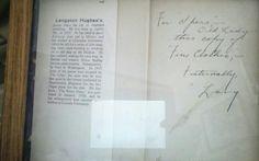 Langston Hughes family treasure 2