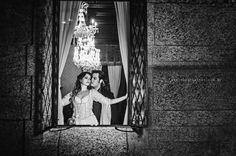 E-session Carla e Alex no Castelo de Itaipava estilo Princesa e Fantasma da ópera. Fotografia: Débora Alves #wedding