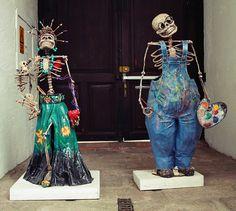 Frida and Diego, Frida Kahlo Museum, Dia de los Muertos