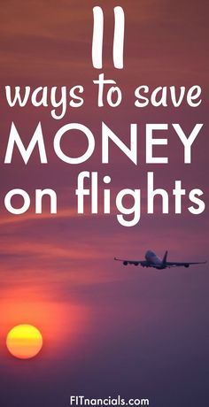 Find out how to save money on flights with these easy to follow tips! This is a great list.