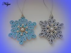 Игрушка на елку Канзаши Снежинка /МК/ Toy on the Christmas tree Kanzashi snowflake Kanzashi Tutorial, Soutache Tutorial, Ribbon Art, Diy Ribbon, Ribbon Crafts, Soutache Pendant, Soutache Jewelry, Shibori, Ribbon Projects