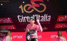 El austríaco Lukas Postlberger sorprende con la primera 'maglia rosa' del Giro del centenario