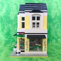 3 Flower Shop Creator Custom Town House City Friends No Instructions Lego | eBay