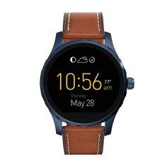 Fossil Q Marshal FTW-2106 Fossil Q Marshal FTW-2106 to niezwykły smatwatch, gdzie nowoczesna stylistyka w męskiej tonacji łączy się z nowoczesną technologią.  #timetrend #smartwatch #fossil #fossilQ