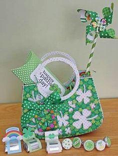 Luck of the Irish cute paper crafts