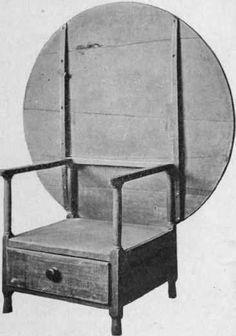 Chair Table, Eighteenth Century.