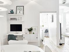Una apartamento diáfano y muy acogedor #hogarhabitissimo