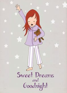Sweet dreams and goodnight.