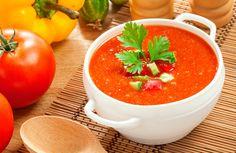 Deliciosa y ligera #SOPA DE TOMATE ¡Aquí la receta! #recipes