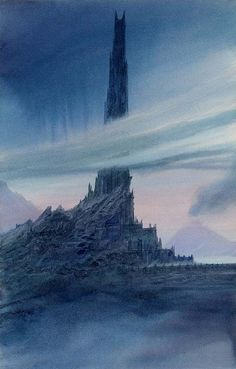 mystic-woods:  The Dark Tower by middle earth illustrator John Howe