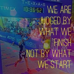 It's all about how you finish. #fitness #fitspiration