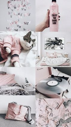 Cats Wallpaper Iphone Pink Ideas For 2019 Trendy Wallpaper, Tumblr Wallpaper, Pink Wallpaper, Galaxy Wallpaper, Wallpaper Lockscreen, Wallpapers Android, Cat Aesthetic, Aesthetic Collage, Aesthetic Dark