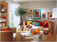 Resultado de imagem para casa colorida