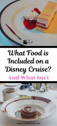 Is Food Included on a Disney Cruise? - EverythingMouse Guide To Disney Disney Cruise Rooms, Disney Cruise Bahamas, Disney Cruise Alaska, Disney Dream Cruise Ship, Disney Wonder Cruise, Disney Fantasy Cruise, Disney Ships, Disney Travel, Disney Cruise Line