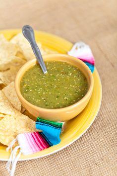 Green Tomato Salsa Verde Recipe | Amazing Mexican Recipes