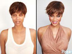 Tyra Banks Bares All in Stunning No Makeup Photoshoot  People Picks, TV News, Tyra Banks