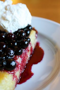 Lemon Blueberry Buttermilk Pie