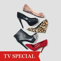 """""""The five shoes every woman needs in her closet: A great boot, a flat, a leopard print, a classic black pump and a bright red pump.""""--Oprah"""