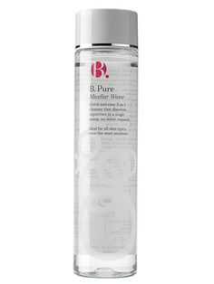 "#CosmoBestBeautyBuy B. Pure Soft And Gentle 3-in-1 Cleansing Water. ""It feels like water so it's perfect for oil-phobes, and it usually costs quite a lot. This one, by Superdrug's new, very good B. cosmetics range, doesn't, and it's just as good as the fancy French ones"""