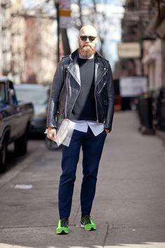 ライダースジャケット 着こなし メンズ【最新】 | 男前研究所
