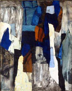 Sten Elving collage 33x41 cm