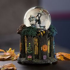 the nightmare before christmas christmas globes christmas gifts disney snowglobes nightmare before christmas - Nightmare Before Christmas Snow Globes