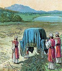Image detail for -Israel Enters the Promised Land (illustration from a Bible card .