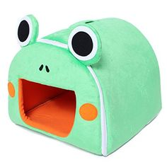 Pet Dog Cat Frog Shape House Kennel *** Hurry! Check out this great product : Cat condo