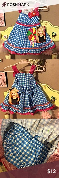 Summer embellished dress with bloomers NWT Adorable little summer dress with matching bloomers NWT Younghearts  Dresses Casual