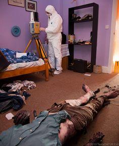 Real Crime Scene Murder | Bedroom crime scene