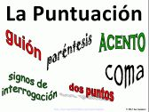 Spanish Punctuation Signs & PowerPoint product from Sue-Summers on TeachersNotebook.com