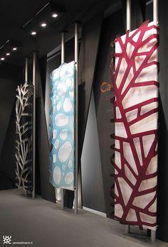 """GEOMETRIC""- stand -""Bagno Show"" - Roma - 2006exhibit design: James di Marco client: CALEIDO"
