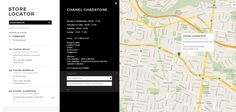 Store Locator from Chanel