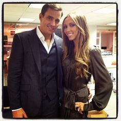 Giuliana and Bill Rancic paid Us a visit--and took over our Twitter for the afternoon!