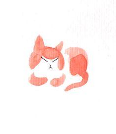 Cat - by Leslie Plée
