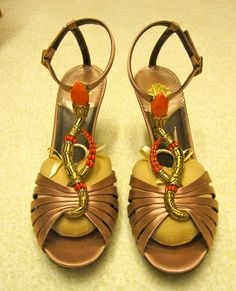 Para a noite: sandália Cavalli mega sensual!