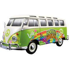 Modèle de véhicule VW Bus Samba Hippie-Line - FRANKANA - Alles für Camping, Caravan und Freizeit