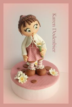 Little Flower Girl! - Just playing with gumpaste!