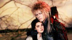 Laberinto (1986). David Bowie y Jennifer Connelly.