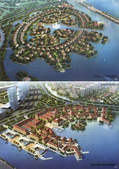 Aoshan Bay New Town, Qingdao