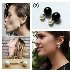 Diy Double Pearl Earrings Inspired By Mise En Dior My Soup Pinterest And