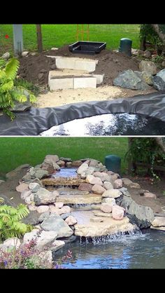 Build your own water feature