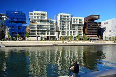 Quartier Confluence à #Lyon -Modern architecture - France  Crédits : David Chanrion