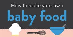 Have a young baby who's starting on solid foods? Avoid high costs and added sugars and preservatives by making homemade baby food. Get 10 recipes here.