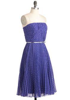 Linger a Little Longer Dress in Violet   Mod Retro Vintage Dresses   ModCloth.com