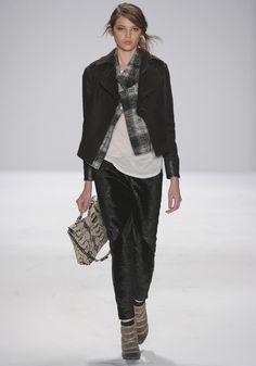 rebecca minkoff fw 2012, runway