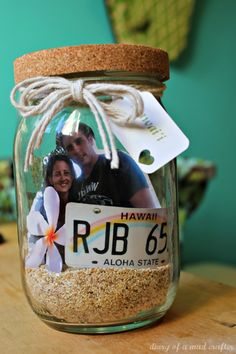 Vacation memory jar!
