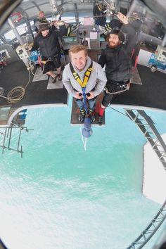 Auckland - New Zealand bungee jumping!
