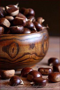 chestnuts - botanical classification: fruit