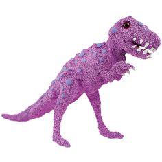 Dinosaurusaiheinen 3D-puupalapeli on päällystetty helmimassalla.